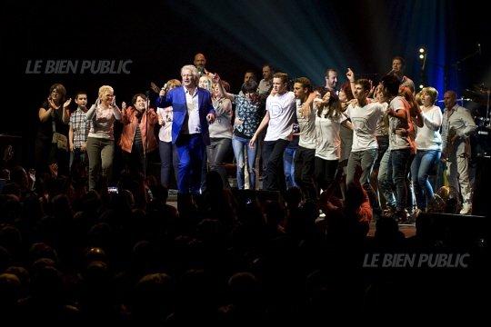 """15 mai 2015 :  Patrick Sébastien au Zénith de Dijon """"Ca va être Ta Fête"""", Pierre et Sylvie y étaient! (u)"""