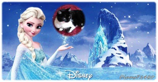 Moi aussi j'ai regardé le dvd de la Reine des Neiges! ;) Et j'aime bien! ;) J'ai adoré! (u)