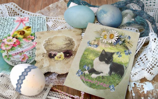 Les beaux jours et Pâques!