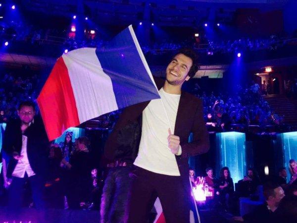 Eurovision : la France 6ème avec Amir - J'ai cherché! Bravo! (u)