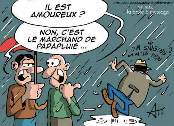 Marre de la pluie ! Snifff! :( :( :(