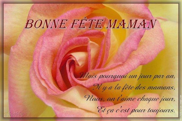 (u) Bonne Fête à toutes les MAMANS (u)