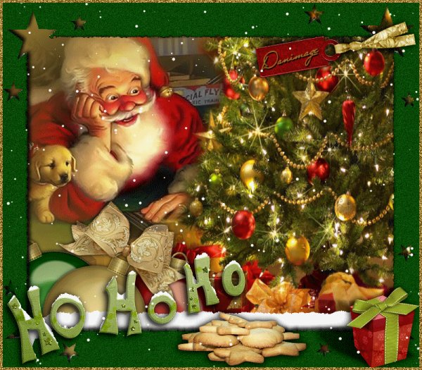 Bonnes fêtes de Noël!