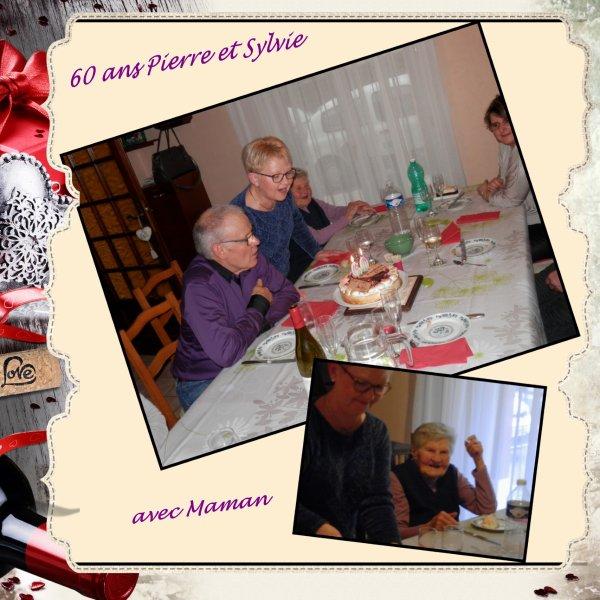 60 ans Pierre et Sylvie