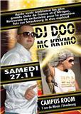 SAMEDI 27 NOVEMBRE 2010 DJ DOO & MC KRYMO AU CAMPUS ROOM A STRASBOURG