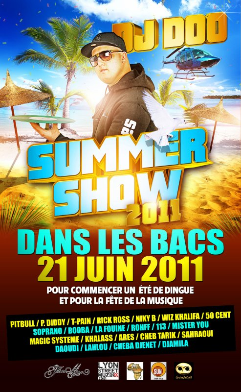 DJ DOO PRESENTE SUMMER SHOW 2011 EXCLU + INEDIT 28 TRACKS
