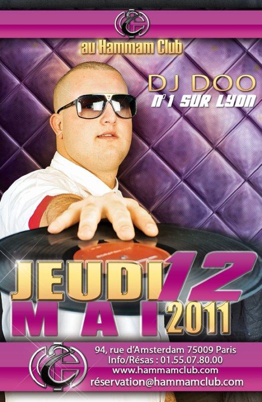 DJ DOO EN LIVE DE PARIS 75 ( LA CAPITAL ) AU HAMMAM CLUB