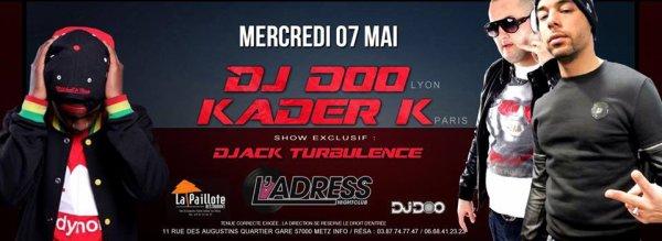 DJ DOO LIVE METZ L ADRESS CLUB AVC DJACK