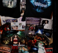 Music, Within Temptation, Harry Potter, and emptiness.