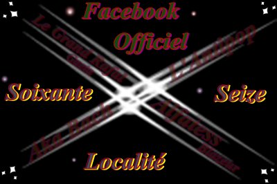 Notre Facebook : Soixante Seize Localité