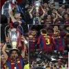 Des photo de la victoire des barcelonais en ligue des champions
