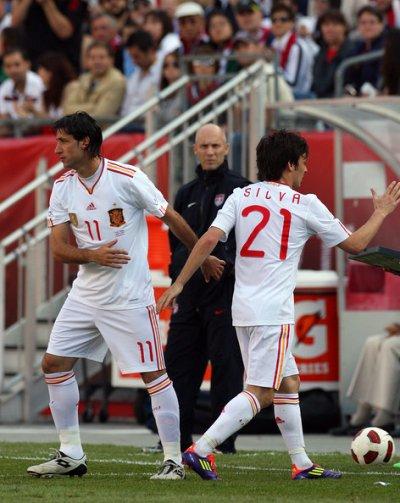 photo du match espagne étas-unis