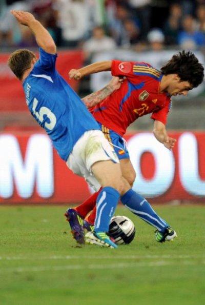 Italie-Espagne 2-1