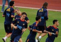 Quelques photo de l'entrainement des joueurs