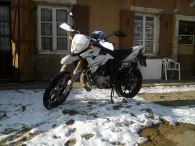 nouvelle moto :)
