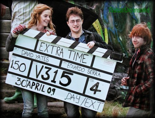 Photos rares tiré de Harry Potter
