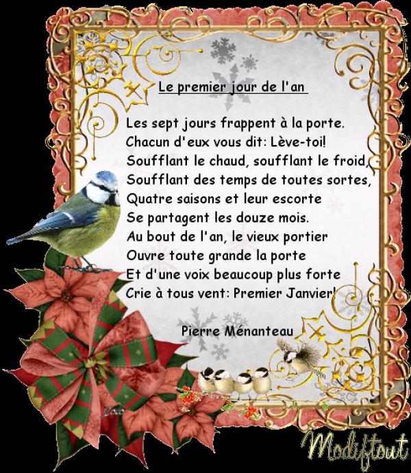 Poeme De Nouvel An Pour Tous Servez Vous Modiftout