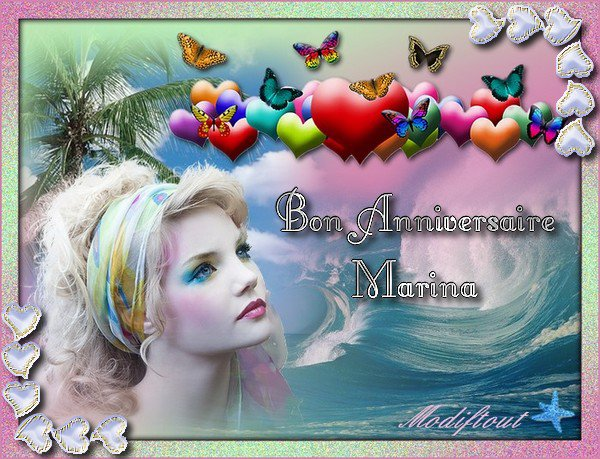 Bon Anniversaire Marina Modiftout