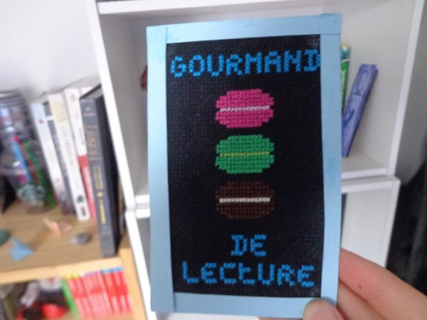 marque page gourmand