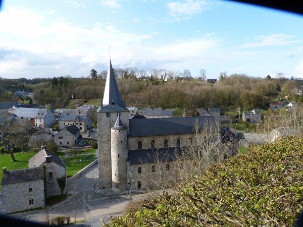 mercredi 11 avril 2012 Eglise de Celles Auprès de Dinant