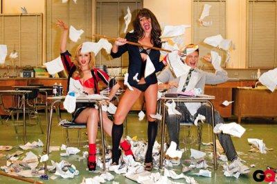 Glee en couverture de GQ: Scandaleux? non, vulgaire? Oui