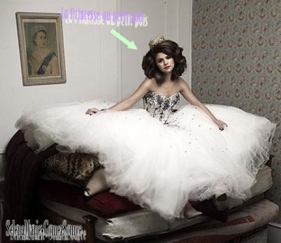 SON PHOTOSHOOT DE PRINCESSE !