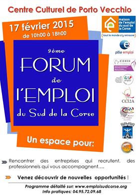 Forum de l'emploi de Porto-Vecchio