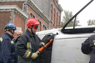 MWA a la porte ouverte des pompiers de Binche