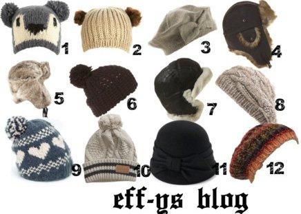 Spécial Bonnet pour l'hiver