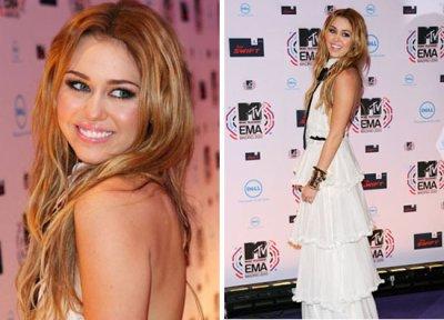 Miley au EMA 200