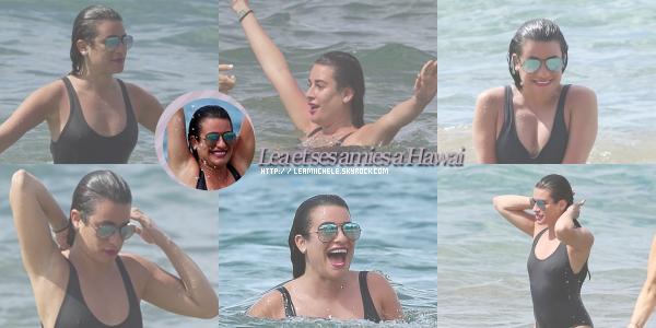 .  21/02/2017  : Lea   sur la plage de Maui à Hawaï .     C'est une nouvelle fois sur la plage de Maui qu'on retrouve Lea. Elle est tellement ray.onnante  TOP   [/font=Arial]    .
