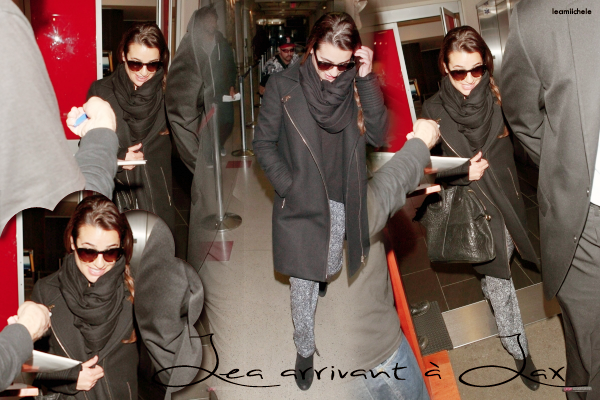 """.  05/03/2014  :  Lea   était présente sur le plateau de """"Good Morning Amerca"""".    Lea est sublime ! j'aime beaucoup sa robe et sa coiffure   TOP.[/font=Arial]    ."""