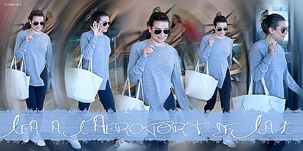 .  20/06/2017 : Lea a été vue à l'Aéroport de Lax .   J'aime beaucoup sa tenue ! tenue très simple mais vraiment jolie ! j'aime son haut . c'est un  TOP.[/font=Arial]    .