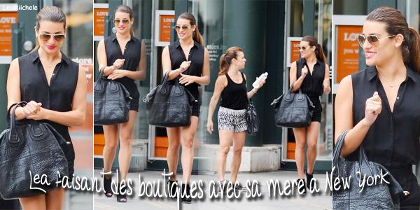 .  24/07/2014  : Lea a été vue en compagnie de sa mère a New York.     J'adore sa tenue !!!  TOP.      [/font=Arial]    .