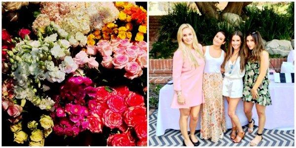 .  07/08/2014  : Lea a assister au brunch Donatienne Fall 2014 chez Nikki Erwin a Beverly Hills.     elle est juste magnifique ! j'adore sa longue jupe ! TOP.      [/font=Arial]    .