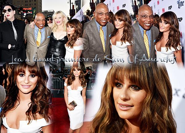 .  03/09/2014  : Le tournage de Glee a commencer !    Lea nous a postée deux photos TOP.      [/font=Arial]    .