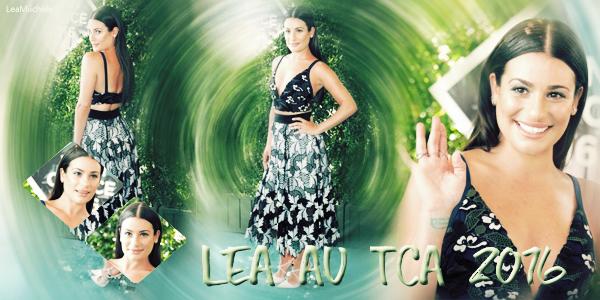 .  31/07/2016  : Lea présente au Teen Choice Awards.     JLea est sublime ! J'aime beaucoup sa tenue et sa mise en beauté! TOP.      [/font=Arial]    .