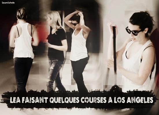 .  21/10/2014  : Lea a été vue quittant le Earth Bar.     J'aime sa tenue! TOP.      [/font=Arial]    .