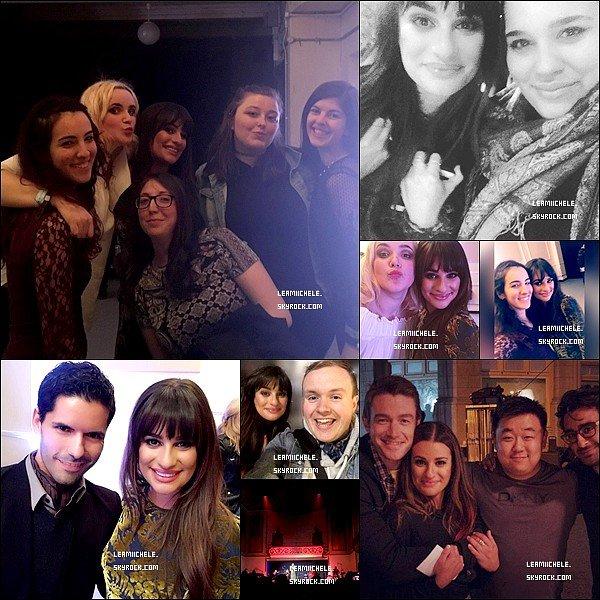 .  21/04/2017  : Lea  aux studios BBC Breakfast pour promouvoir son  nouvel album, à Manchester.       Coté tenue : tenue assez jolie meme si je n'ai pas eu de coup de coeur. Sa reste tout de même un TOP !  [/font=Arial]    .