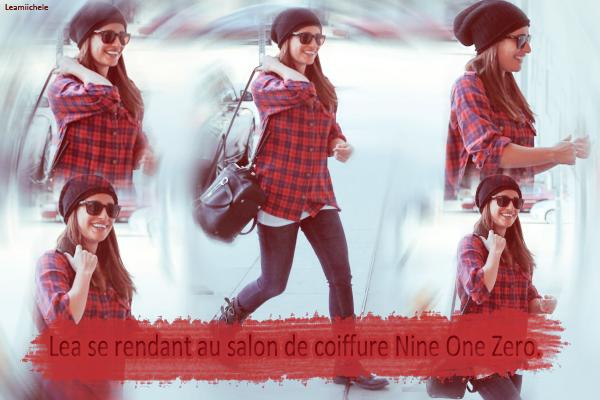 .  10/11/2014  : Lea a été vue faisant une randonnée avec sa mère.     J'aime sa tenue surtout son T-Shirt TOP.      [/font=Arial]    .
