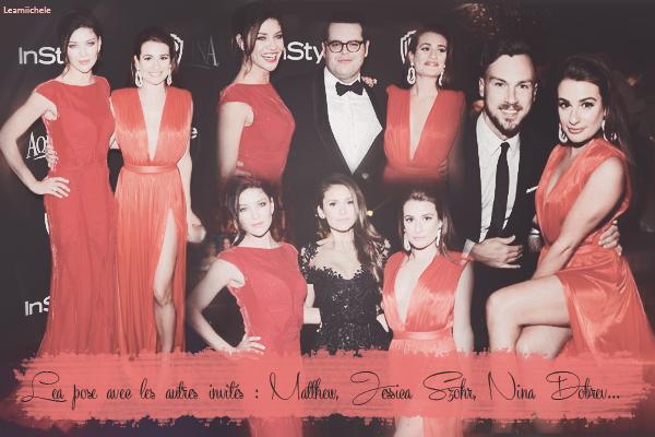 .  11/01/2015  : Lea était présente a l'After party Instyle & Warner Bros des Golden Globes.     Ele est magnifique ! Sa robe est trop belle et cette couleur lui va vraiment bien ! TOP.      [/font=Arial]    .