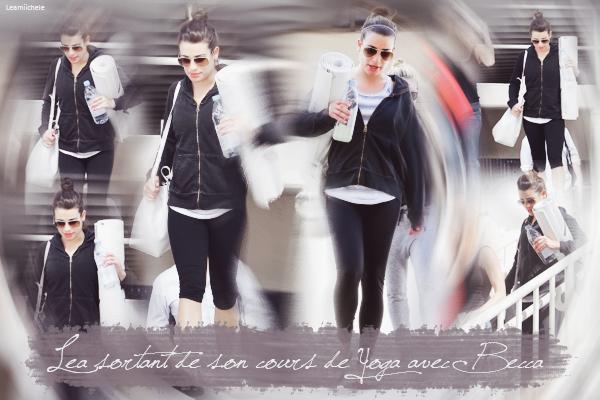.  23/01/2015  : Lea a été vue sortant d'un salon a Berverly Hills.     Tenue assez simple , j'aime son pull ! Ses cheveux sont sublimes TOP.      [/font=Arial]    .