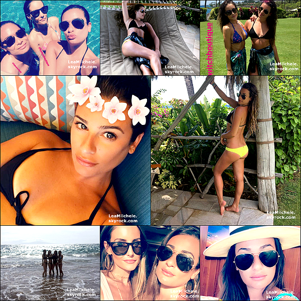 .  29/06/2017 : Lea a été vue  sur la plage de Maui à Hawaï .  Lea a été vue une nouvelle fois sur la plage de Maui a Hawaii faisant du paddle. Contente d'avoir d'autres nouvelles de la belle, elle profite pleinement de ses vacances et elle a bien raison ! :) J'aime son maillot ! C'est un  TOP.[/font=Arial]    .