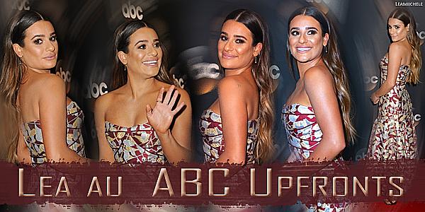 .  16/05/2017  :  Lea   était présente aux ABC Networks upfronts presentation au Lincoln Center.    Sa robe est très jolir, elle la porte vraiment très bien ! J'aime beaucoup sa mise en beauté également  TOP.[/font=Arial]    .