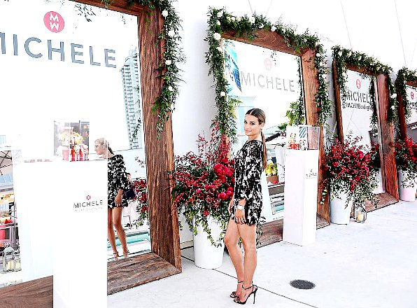 """.  03/06/2016  : Lea présente à l'événement :""""Michele Watches And Lea Michele Host Leading Lady Event"""".     Lea est a Las Vegas pour cet event,Elle est juste parfaite! c'est un vrai coup de coeur pour moi ! tout est parfait! ! TOP.      [/font=Arial]    ."""
