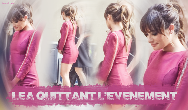 """.  11/05/2015  : Lea s'est rendue à la """"Fox Scream Queens Party""""à New York.     Seules des photos twitter sont disponibles, Lea est sublime ! j'aime sa coiffure et sa tenue a l'air jolie.  TOP.      [/font=Arial]    ."""