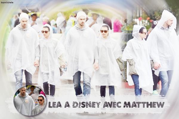 .  14/05/2015  : Lea, Matthew et des amis ont été a Disneyland.     Malheureusement, la journée choisie n'était pas la bonne, il a plu . BOF.      [/font=Arial]    .