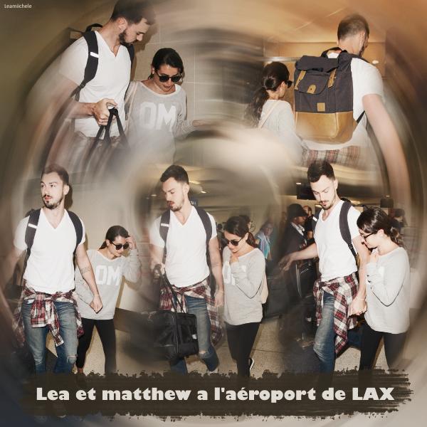 .  01/08/2015  : Lea et Matthew quittant une salle de sport .     Lea est très souriante , sa fait plaisir TOP.      [/font=Arial]    .