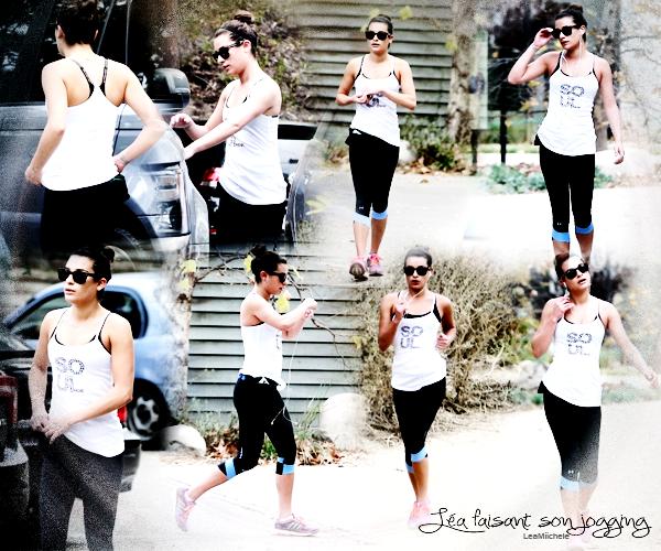.  18/01/2014 : Lea a été vue quittant sa maison a Los Angeles.  Tenue très simple, à la cool j'aime beaucoup.C'est un  TOP.[/font=Arial]    .