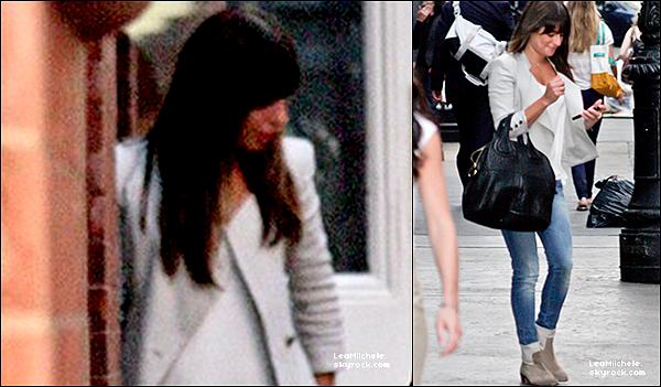 .  27/06/2013 : Lea a été vue allant diner au restaurant Mercer Kitchen a New York.   J'adore la tenue de Lea ! très classe ! j'adore sa veste et ses chaussures! C'est un  TOP.[/font=Arial]    .